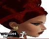 Red hair + Tiara Red