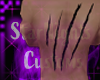M Claws Back Tattoo