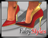 Red & Gold Heels