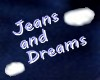 Jeans & Dreams wall Hngn