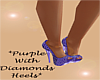 *BossLady Purple Heels*