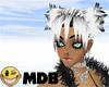 ~MDB~ W & B BABY HAIR