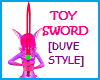 TOY SWORD +Sounds