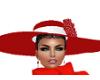 ELEGANT RED HAT