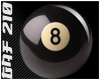 8th Ball Badge