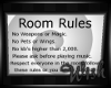 {wish}Room Rules Picture