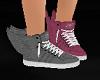 Dual colour winged kicks