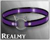 [R] Cat Collar Purple