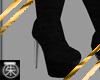 }T{ Chrome heeled Boots