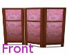 pink flower screen