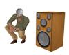 Iroko Speaker No Pose