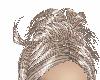 brown ,silver hair