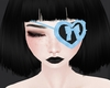 C! Heart Eyepatch - Blue