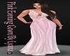 L / Pink Evening Gown