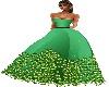 D. Green Gown