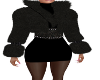 Dance Dress with Fur