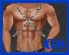 """GS"" Silver Chest Chains"