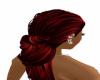 black red hair