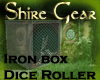 Iron box dice roller