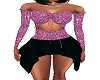 Pink Jewels Mini Dress