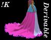 !K!HighWaist Empire Gown