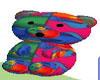 Colorful Fishy Bear