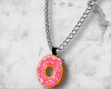 ` Donut necklace