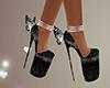 Black Heels butterfly