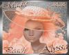 !a Alyssa Peach Hat