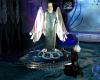 warrior angelic statue