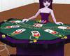 Purple Blackjack Table
