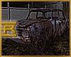 R. Rusty Abandonned Car
