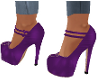 MERLE PURPLE  SHOES