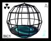 Blue/Purple Dance Cage