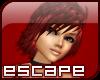 e] Red Star Hair