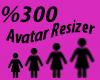Avatar Resizer F %300