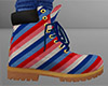 Striped Work Boots 2 (M)