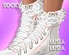 ♡ Lace Socks Add