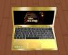 Dr Bling Gold Laptop 5
