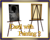 Easel w/ painting 2