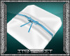 Blue Dreams Ring Pillow