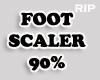 R. Foot Scaler 90%