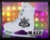 (M) DA White Skates (M)