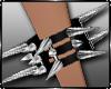 Cuffs SIN Spikes R / F
