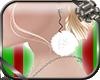 Christmas Fur Earring