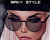 M:Glasses blk