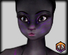 skin black & purple fur