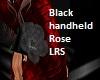 Black Handheld Rose