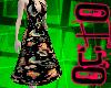 O. Black Tattoo Dress