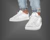 Leather Kicks White